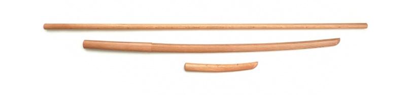 Les différentes armes utilisées en Aïkido